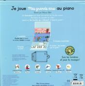 Je joue mes grands airs au piano - 4ème de couverture - Format classique