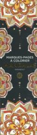 Marque-pages à colorier ; mandalas - Couverture - Format classique