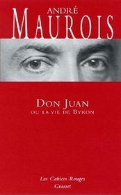 Don juan ou la vie de byron - (*) - Intérieur - Format classique