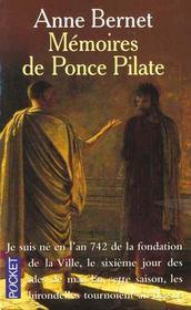 Memoires De Ponce Pilate - Intérieur - Format classique