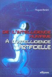 De L'Intelligence Humaine A L'Intelligence Artificielle - Intérieur - Format classique