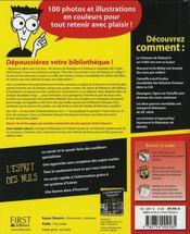 La littérature française illustrée pour les nuls - 4ème de couverture - Format classique