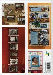 Le scrap mural ; tableaux-photos pour déco intérieure - 4ème de couverture - Format classique