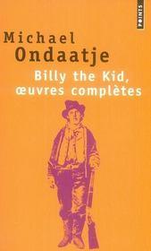 Billy The Kid, oeuvres complètes - Intérieur - Format classique