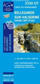 Bellegarde-sur-Valserine ; Grand Crêt d'Eau ; 3330 OT - Couverture - Format classique