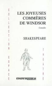 Les Joyeuses Commeres Shakespeare - Couverture - Format classique