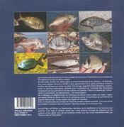 Le grand livre des dorades dorade royale, dorade rose, dorade grise, pageot commun, dente, pagre et - 4ème de couverture - Format classique