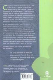 Nos Plus Belles Annees, Avenir De La Vie Religieuse - 4ème de couverture - Format classique