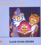 Lucie Aime Les Histoires Francais Anglais - Intérieur - Format classique