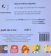 Lucie Aime Les Histoires Francais Anglais - 4ème de couverture - Format classique