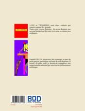 Lulu et Trompille - 4ème de couverture - Format classique