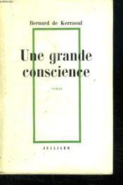 Une Grande Conscience. - Couverture - Format classique