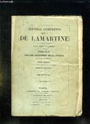 Oeuvres Completes De Ma De Lamartine. Tome 4. - Couverture - Format classique