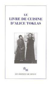Le livre de cuisine - Couverture - Format classique
