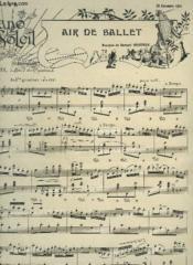 Piano Soleil - N°26 Du 29 Decembre 1901 : Air De Ballet + Berceuse + Valse Lente. - Couverture - Format classique