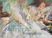 John singer sargent watercolors /anglais - Couverture - Format classique