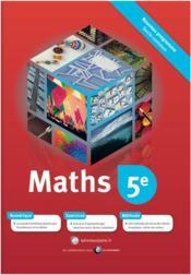 Mathématiques ; 5ème - Couverture - Format classique