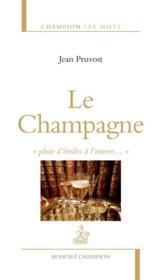 Le champagne - Couverture - Format classique