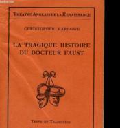 La Tragique Histoire Du Docteur Faust - Couverture - Format classique