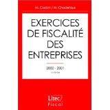 Exercices de fiscalite des entreprises 2000-2001 ; 13e edition - Couverture - Format classique