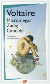 Micromégas; Zadig ; Candide - Couverture - Format classique