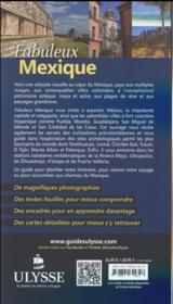 Mexique (édition 2016) - 4ème de couverture - Format classique