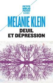 Deuil et dépression - Couverture - Format classique