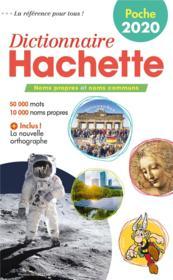 Poche dictionnaire Hachette français - Couverture - Format classique