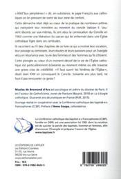 Catholiques, rouvrez la fenêtre ! mémoires de prêtres qui ont vécu Vatican II - 4ème de couverture - Format classique