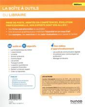 La boîte à outils ; du libraire - 4ème de couverture - Format classique