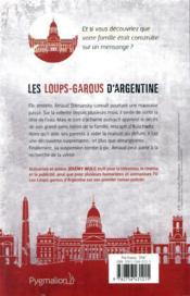 Les loups-garous d'Argentine - 4ème de couverture - Format classique