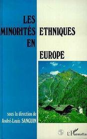 Les Minorites Ethniques En Europe - Intérieur - Format classique