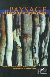 Paysage, Territoire D'Intentions - Intérieur - Format classique