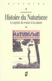 Histoire du naturisme ; le mythe du retour à la nature - Intérieur - Format classique