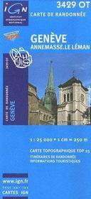 Genève ; Annemasse ; le Léman - Intérieur - Format classique
