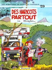 Les aventures de Spirou et Fantasio T.29 ; des haricots partout - Intérieur - Format classique