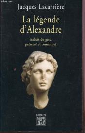La Legende D'Alexandre - Couverture - Format classique