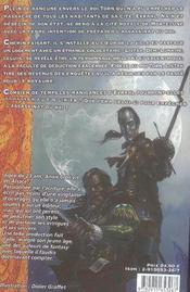 Lunes de sang (les) - 4ème de couverture - Format classique