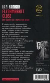 Fleshmarket close - 4ème de couverture - Format classique