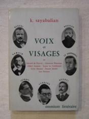 Voix et visages - Couverture - Format classique