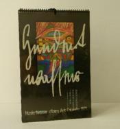Hundertwasser Cicero Art Calendar 1975. - Couverture - Format classique