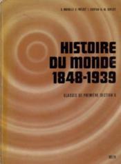1re g histoire du monde (1848-1939) - Couverture - Format classique