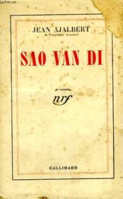 Sao Van Di. - Couverture - Format classique