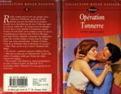 Operation Tonnerre - Aftershock - Couverture - Format classique