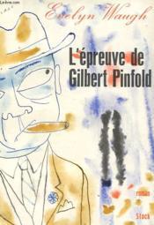 L'Epreuve De Gilbert Pinfold - Couverture - Format classique