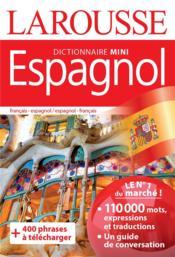 Dictionnaire mini espagnol - Couverture - Format classique