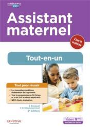 Assistant maternel ; tout-en-un (2e édition) - Couverture - Format classique