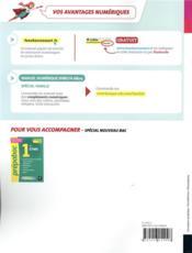 Sciences de gestion et numérique ; 1re STMG ; manuel de l'élève (édition 2019) - 4ème de couverture - Format classique