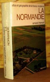 Atlas Et Geographie De La Normandie - Couverture - Format classique