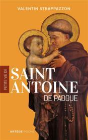 Petite vie de saint Antoine de Padoue - Couverture - Format classique
